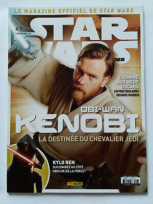 Magazine Officiel Panini Star Wars Insider N°7 Cover 1/2 2016 Cote Obscur Force