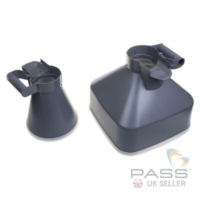 NEW TestSafe Airflow Cone Set - Square/Round Cones for TSAM5 Anemometer / UK
