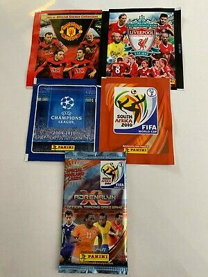 10 x Packs of Football Stickers/Cards (Panini)