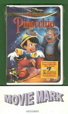 """PINOCCHIO"" 1940 (Walt Disney Home Video) Gold Collection DVD Brand ☆NEW☆ SEALED"