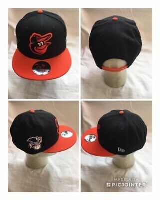 free shipping 29eed db1f8 NEW MLB Baltimore Orioles New Era 9FIFTY Snapback Hat Adjustable