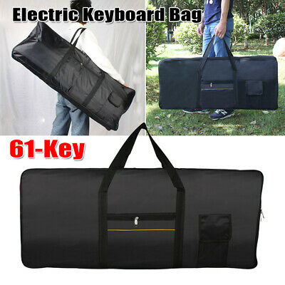 High Quality Portable 61-Key Keyboard Electric Piano Soft Padded Gig Bag Case
