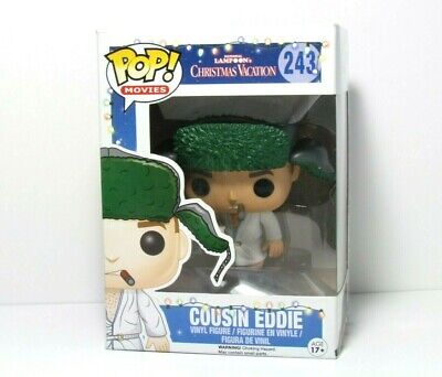 Cousin Eddie 243 Funko Pop New In Box Christmas Vacation Movie Vaulted Retired