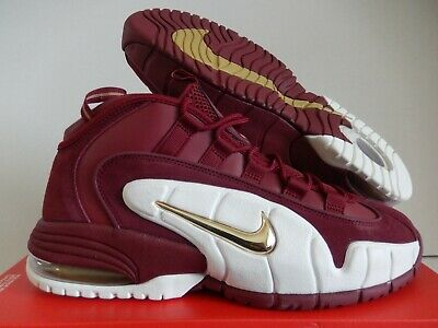 2e57abb5db NIKE AIR MAX Penny Team Red Metallic Gold White Sz 8-14 - $113.00 ...