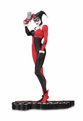 Dc Collectibles Michael Turner 7'' Red,White And Black Harley Quinn Statue