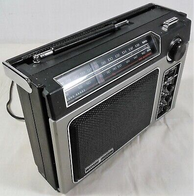 Classic Vintage GE SuperRadio Long Range Model 7-2880B General Electric Works