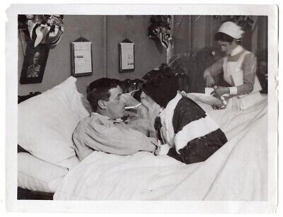 WWI Christmas for Wounded St. George Hospital London England 6.5x8.5 News Photo