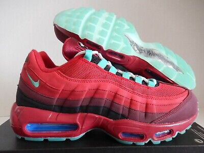 NIKE AIR MAX 95 ID 3M Reflective Silver Gym Hot Red Cool