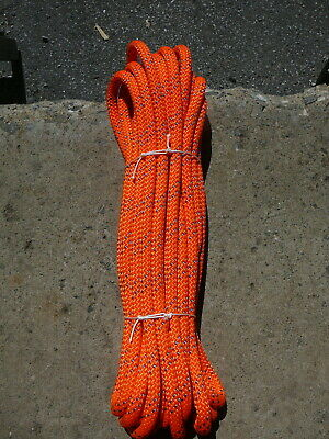 """New England Static Line Low Stretch Rope  Climbing, Rappel, Tag Line 1/2"""" x 47'"""