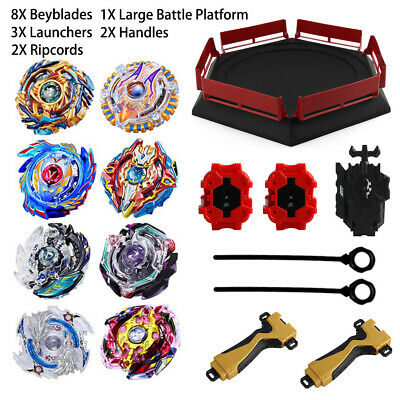 8X SET Beyblade Burst Evolution Arena Launcher Battle Platform Stadium B-day Toy
