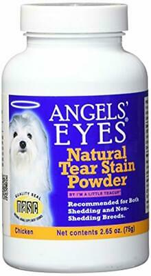 NEW Angels' Eyes Chicken Formula 75 gram | Natural Tear Stain Powder for Dogs