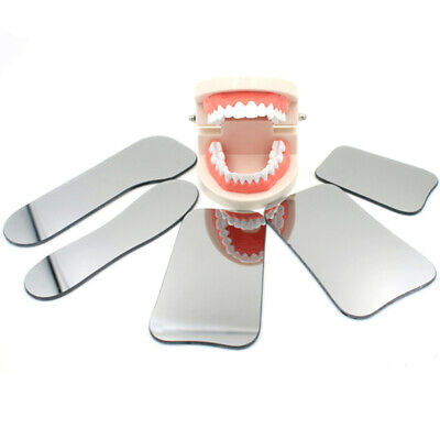 Intraoral Occlusal Photographic Dental Glass Mirror Oral Health Care Cheerful