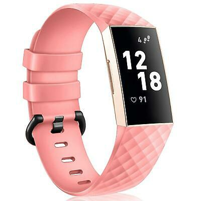Fitbit Charge 3 TAILLE S Remplacement Bracelet en Silicone Montres Sport Bande