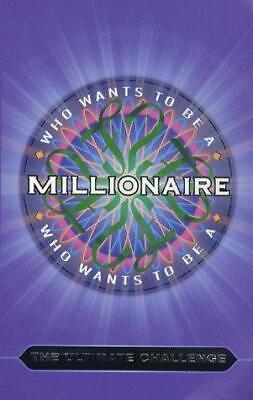 Who Wants To Be A Millionaire? The Ultimate Challenge, Celador, Good Condition B