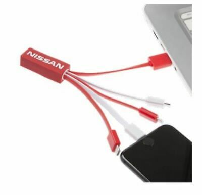 Genuine Nissan 5 in1 Charging Cable - IOS to Android