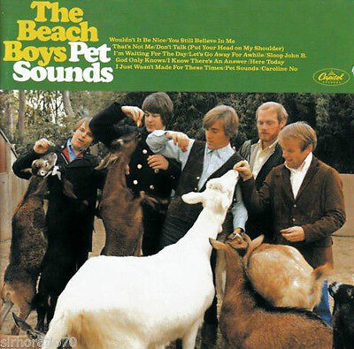 The Beach Boys (Pet Sounds Remastered + Bonus Track Cd - Sealed + Free Post)