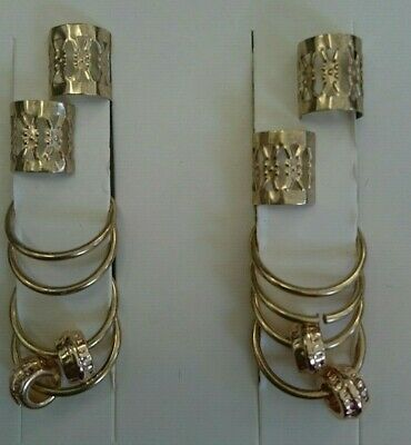 Hair ornaments by Lovisa. Rings and drops. New/unused.