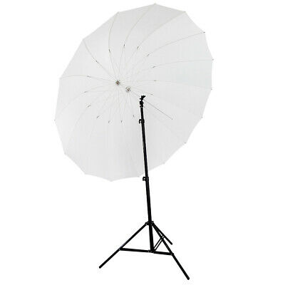 Neewer White Diffusion Parabolic Umbrella Double Wall Shaft, Fiberglass Frame