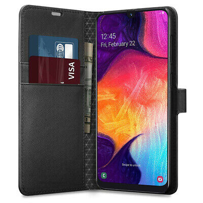 Case For Samsung Galaxy A50 A40 A20e A70 Phone Leather Wallet Flip Card Cover