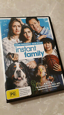 Instant Family DVD *AS NEW* Mark Wahlberg Comedy Movie New Release Kids