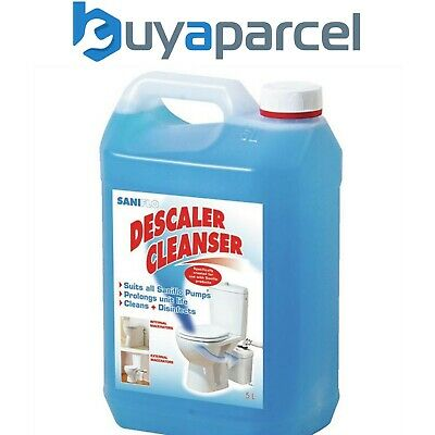 Saniflo Descaler 5 Litre Bottles for Use with Saniflo Products Sani Cleaner