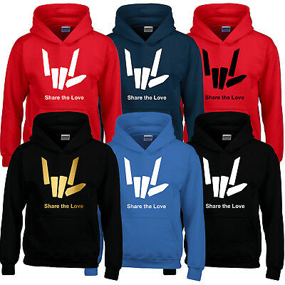 Share The Youtuber Love Girls Boys Kids Adult Hoodie