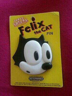 """Felix The Cat Lapel Pin 2/"""" Character Pin New In Package L@@K"""