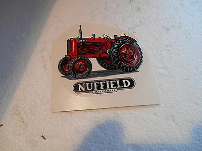 "1990s  3/""  SMOOTH SURFACE TRANSFER OF NUFFIELD UNIVERSAL TRACTOR"