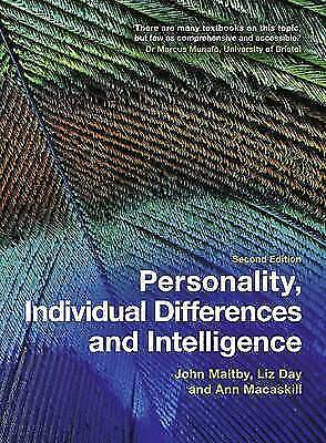 (Very Good)-Personality, Individual Differences and Intelligence (Paperback)-Ann