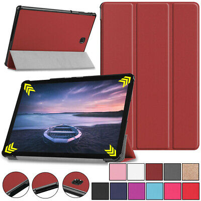 """For Samsung Galaxy Tab A 8.0""""2015 SM-T350 PU Leather Ultra Slim Case Stand Cover"""