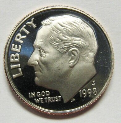 90/% SILVER 2003-S CAMEO PROOF ROOSEVELT DIME~FREE SHIP~