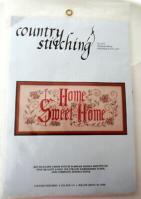 Country Stitching Home Sweet Home Stamped Cross Stitch No. 413