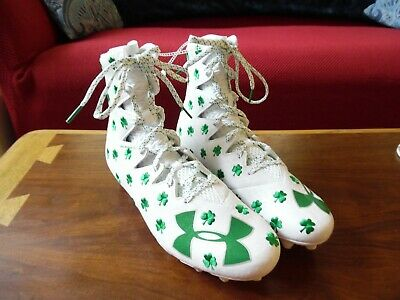 a5f4b1a086fa ☘️Under Armour UA Limited Edition Shamrock Highlight Football Cleats Size  11.5☘️