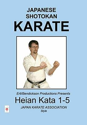 Japanese Shotokan Karate: Heian Kata 1-5 DVD VIDEO MOVIE self-defense techniques