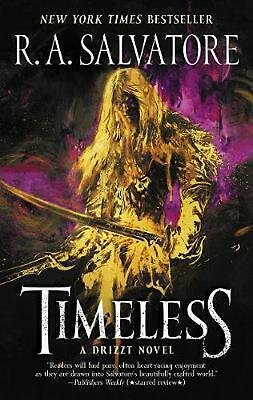 Timeless: A Drizzt Novel by R.A. Salvatore (English) Paperback Book Free Shippin