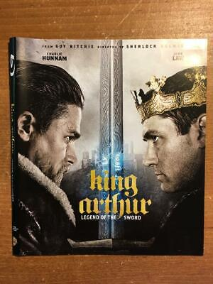 King Arthur, Legend of the Sword (Blu ray)**DISC AND COVER ART ** LIKE NEW