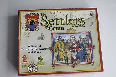 SETTLERS of CATAN  Mayfair Games 483 Board Game 2003 - Missing Dice