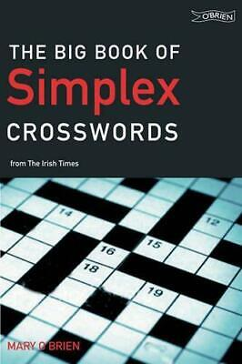 The Big Book of Simplex Crosswords from The Irish Times, Very Good Condition Boo