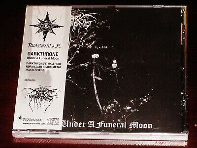 Darkthrone: Under A Funeral Moon CD 2018 Peaceville Records EU CDVILED35 OBI NEW