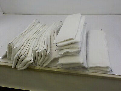 PURE SAFETY 43178-182643 - Vertical Crib Liners, White Minky, 38 Pack