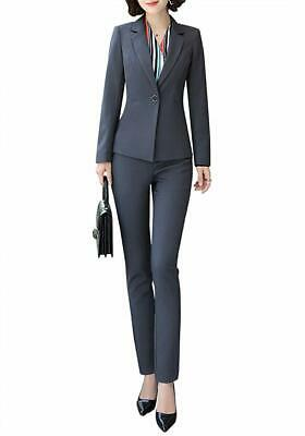 Women's Formal Office Business Suit Set Slim Work Suits for Women Business Wom