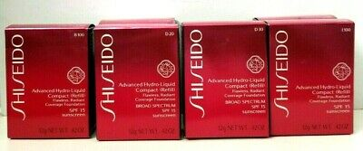 SHISEIDO Advanced Hydro-Liquid Compact (REFILL) 0.42 oz BOX PICK YOUR SHADE
