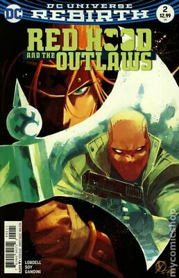 Red Hood and the Outlaws #2B 2016 Scalera Variant VF Stock Image