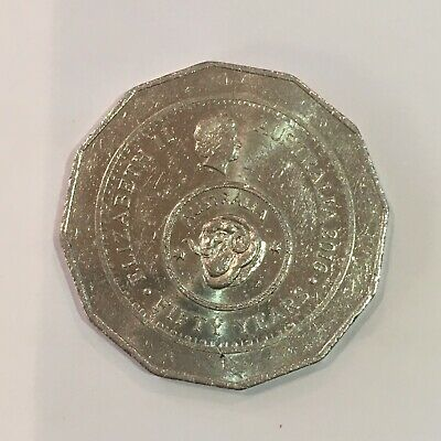 2016 Australian 50 Cent Coin-50 Yearsof Decimal Currency - Circulated