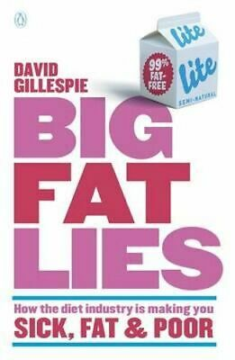 NEW Big Fat Lies By David Gillespie Paperback Free Shipping