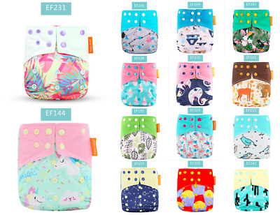 Happy Flute Cloth diapers Pocket with Microfiber Insert Washable Waterproof