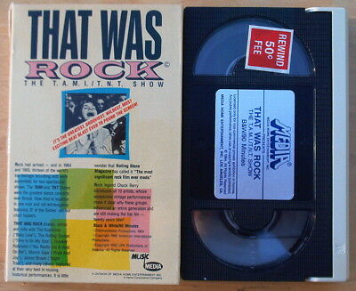 That Was Rock T. A.M. i / T. N. T. Show Rolling Stones Bo Diddley R.charles Beta