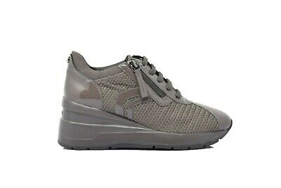 a3f8a782e6 SNEAKERS DONNA GEOX – D ZOSMA C - METAL TEXT.+SUE. - D828LC 0LY22 ...