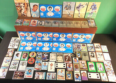 Detroit Lions NICE! lot 310+ collectible Cards stickers misc Laughlin Jeno's