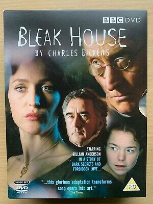 Bleak House DVD 3 Discos Box Set 2006 BBC Charles Dickens Clásico TV Serie Drama